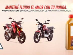 Honda presenta en el mercado local un lubricante premium