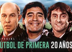 20 aÑos de Futbol de Primera