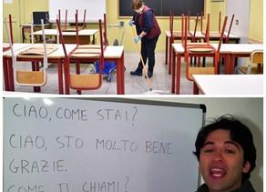 Italia divide las aulas