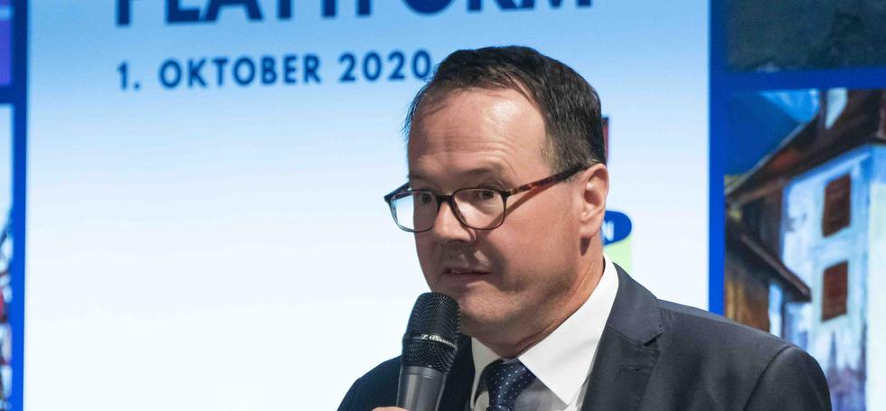 Dr. Thomas Zwiefelhofer, VLGST Präsident