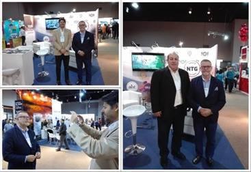 Carlos Pera Presidente de la AUDAVI en la ExpoViajes Uruguay
