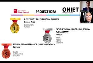 """La Escuela  267 """"Gob. Eriberto Mendoza"""" destacada en las Olimpiadas Nacionales de la Innovacion"""