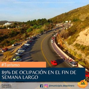 89% DE OCUPACION HOTELERA EN POTRERO