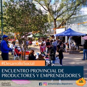 1° ENCUENTRO PROVINCIAL DE PRODUCTORES Y EMPRENDEDORES
