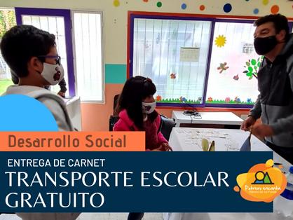TRANSPORTE ESCOLAR GRATUITO Y SEGURO