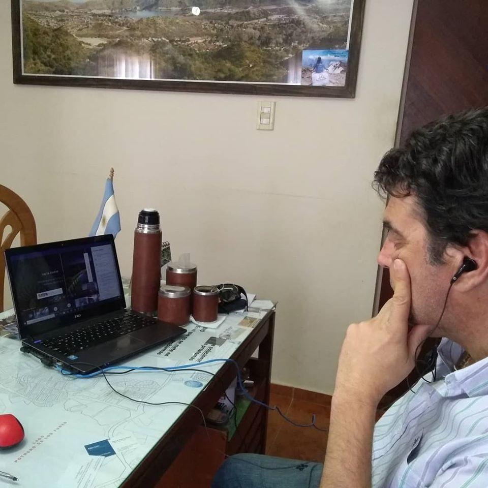 El Intendente Daniel Orlando Participio del Encuentro de Municipios Turisticos