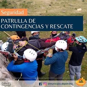 PATRULLA DE CONTINGENCIA Y RESCATE