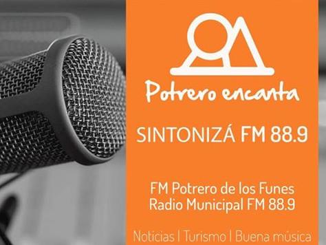 "RADIO MUNICIPAL ""ENCANTA"""