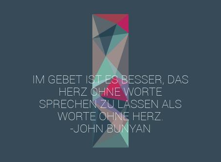John Bunyan über das Gebet