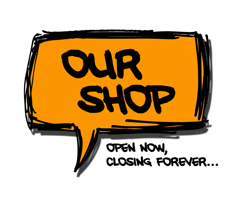 Our Shop-Logo contrast
