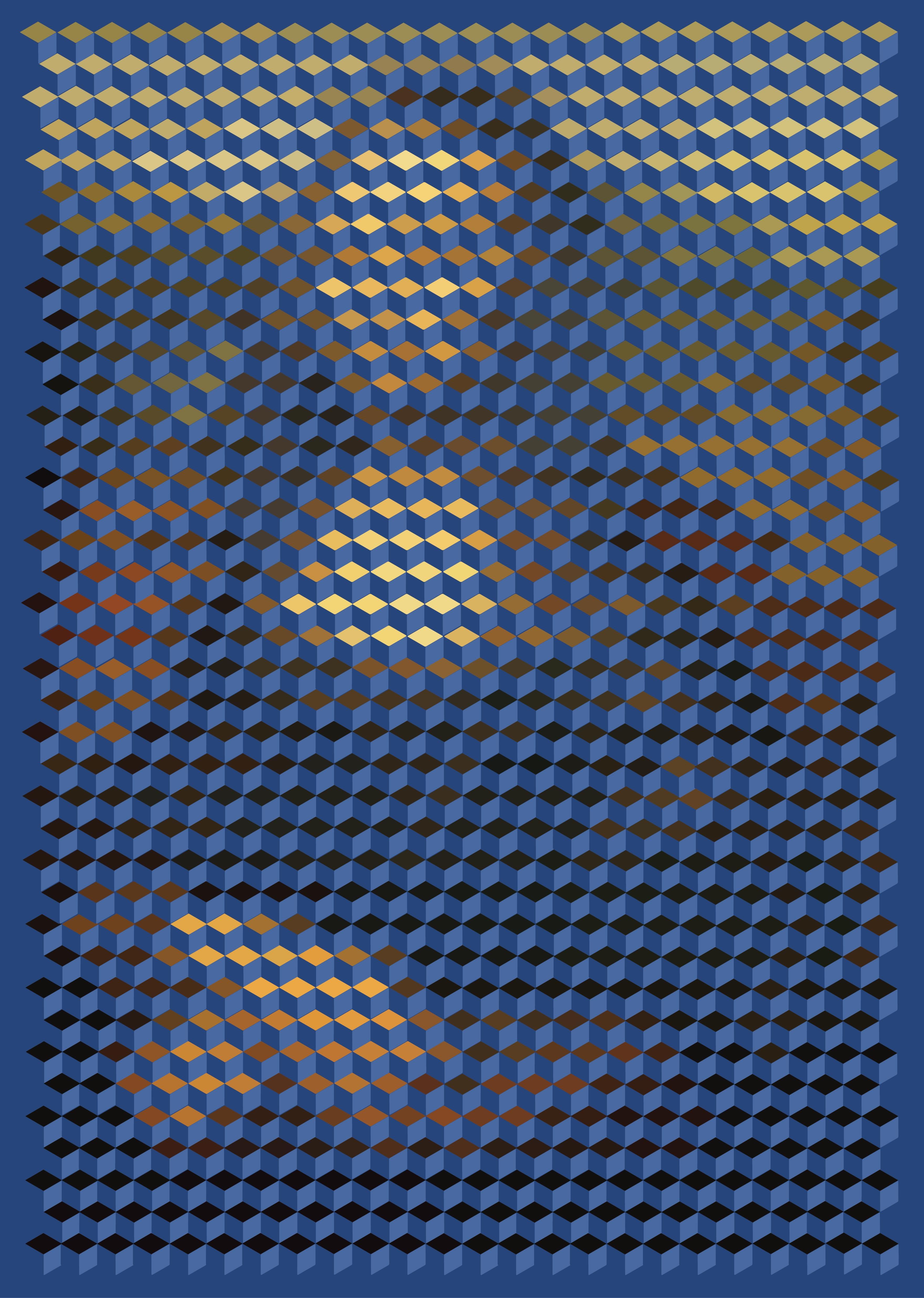Cube Mona Lisa