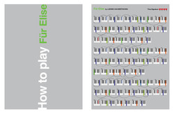 Beethoven-Fur Elise Book Spread