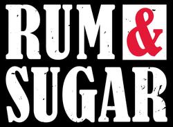 Rum & Sugar Logo - Final Red copy