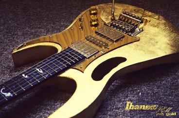 Ibanez Jem 24k Gold Guitar Custom Build