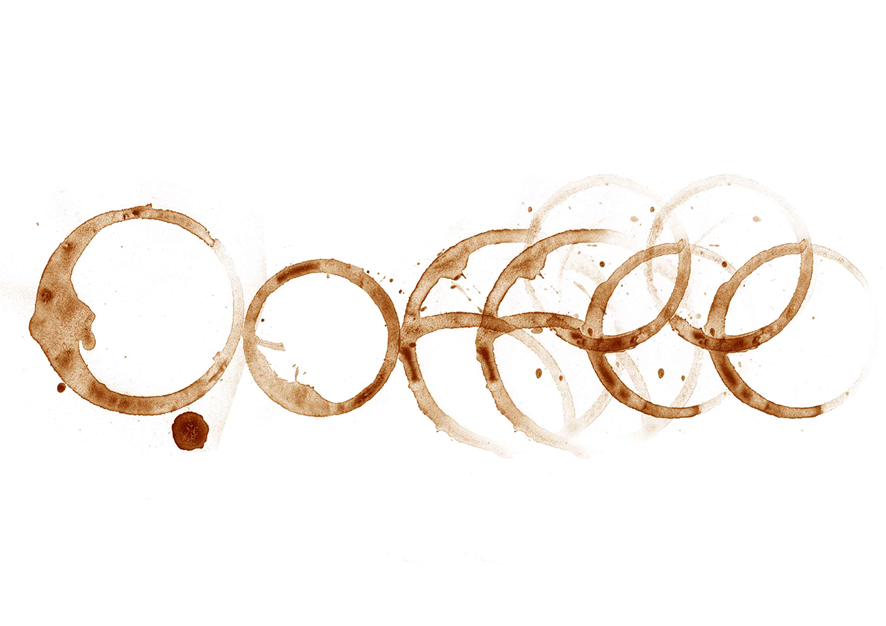 Coffee Stains Typography