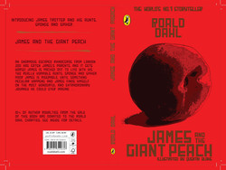 James and the Giant Peach-Cover