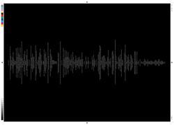 Typography soundwave(horizontal)
