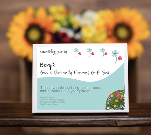 Bee & Butterfly Flower Seeds Gift Pack