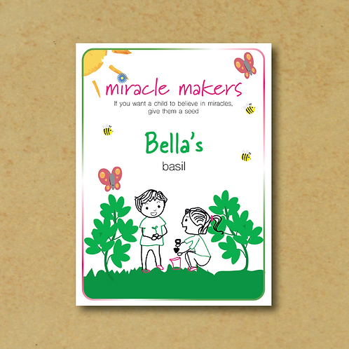Miracle Maker Basil Seeds