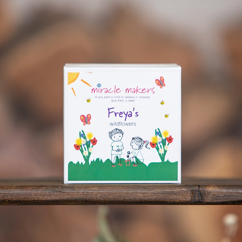 Personalised Children's Choose Your Own Seeds Gardening Gift Set