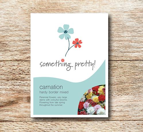 Carnation (Hardy Border Mixed) Seeds