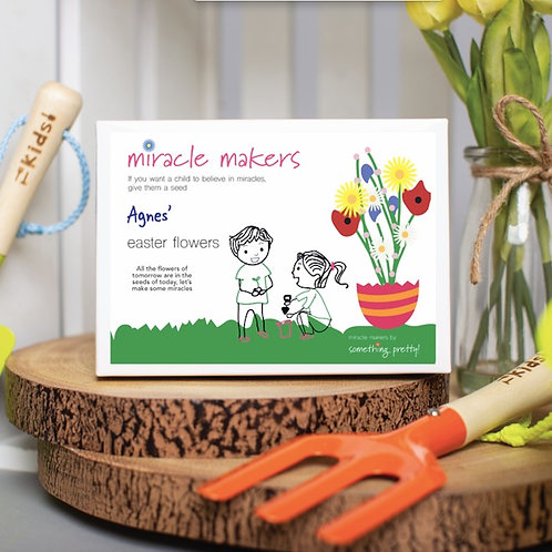 Miracle Makers Easter Flowers Gift Set