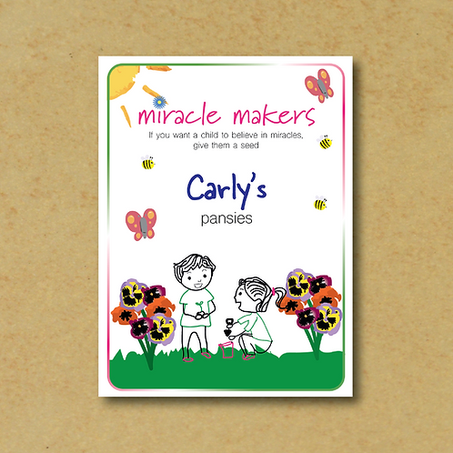 Miracle Maker Pansy Seeds