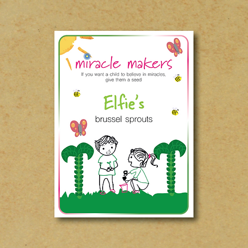 Miracle Maker Brussels Sprouts Seeds