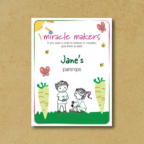 Miracle Maker Parsnip Seeds