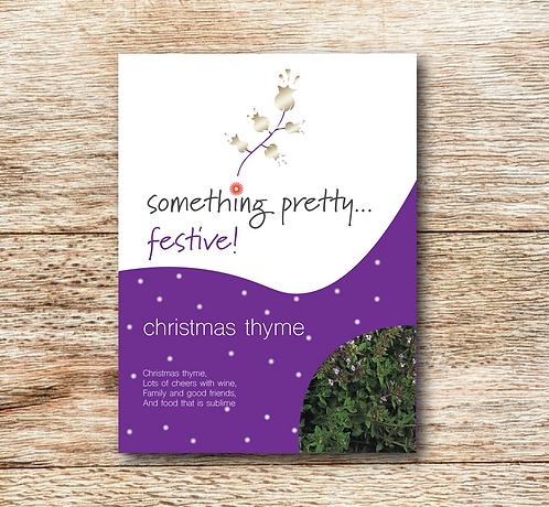 Festive Christmas Thyme Seeds