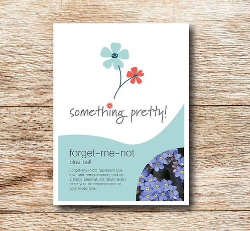 Forget-Me-Not (Blue Ball) Seeds