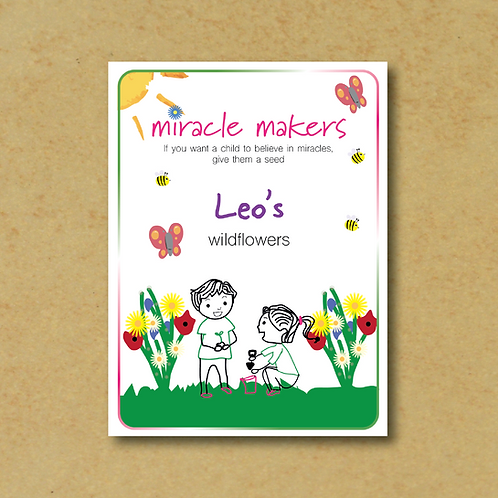 Miracle Maker Wildflower (Bee & Butterfly Mix) Seeds