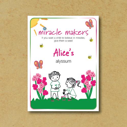 Miracle Maker Alyssum (Easter Bonnet Mix) Seeds