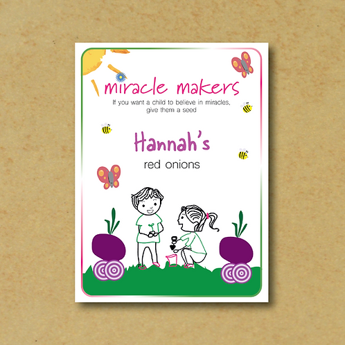 Miracle Maker Red Onion Seeds