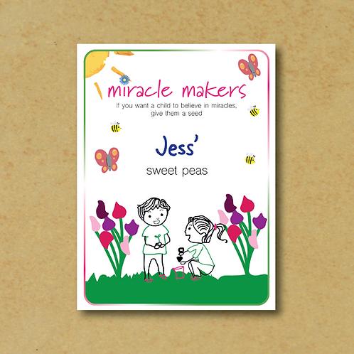 Miracle Maker Sweet Pea Seeds