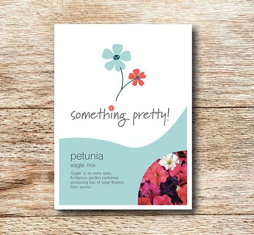 Petunia Eagle Mixed Seeds