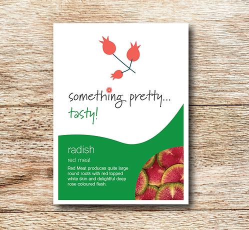 Radish (Red Meat) Seeds
