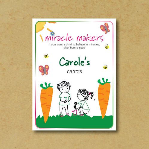 Miracle Maker Carrot Seeds