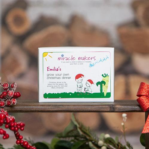 Children's Grow Your Own Christmas Dinner Gift Set