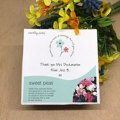 Personalised Teacher Thank You Gift Set