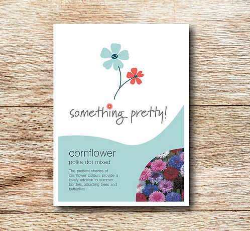Cornflower (Polka Dot Mixed) Seeds
