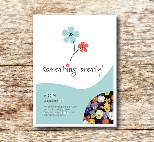 Viola Venus Mixed Seeds