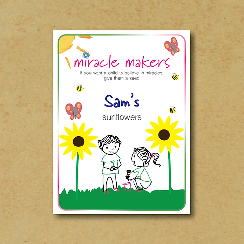 Miracle Maker Sunflower Seeds