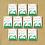 Thumbnail: 10 Packs Personalised Party Bag Pea Seeds