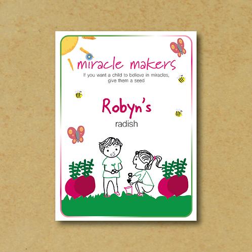 Miracle Maker Radish Seeds