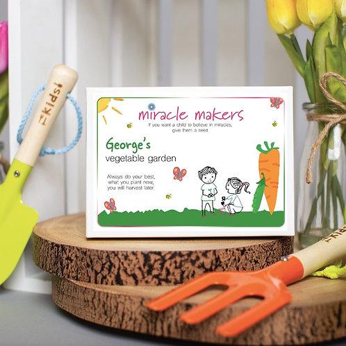 Children's Vegetable Seeds Gift Set