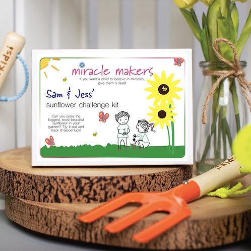 Children's Sunflower Challenge Gift Set