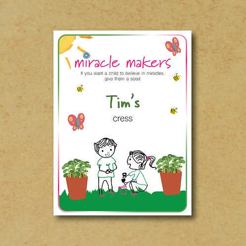 Miracle Maker Cress Seeds
