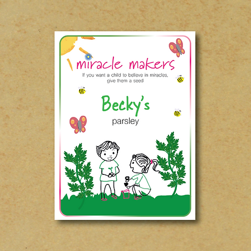 Miracle Maker Parsley Seeds