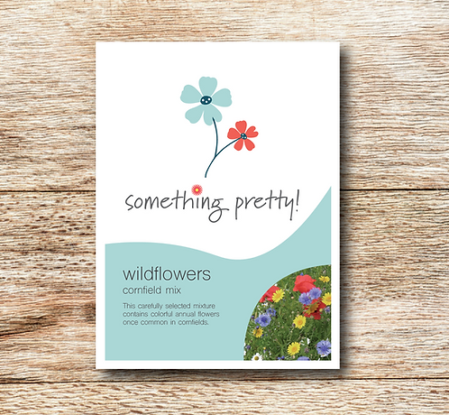 Wildflower (Bee & Butterfly Mix) Seeds